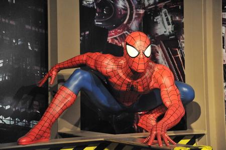 spiderman: Spiderman - Shanghai Madame Tussauds celebrity Wax Museum