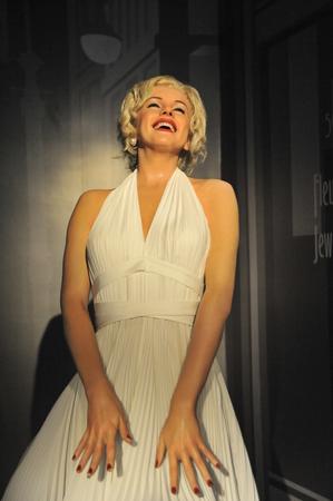 monroe: Marilyn Monroe - Shanghai Madame Tussauds celebrity Wax Museum