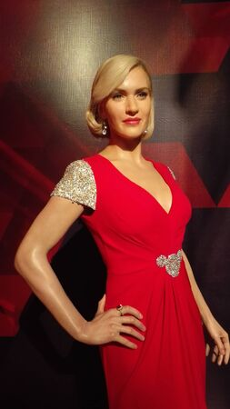 Kate Winslet - Shanghai Madame Tussauds wax museum