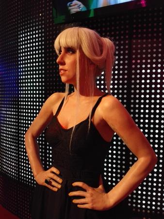 gaga: Lady Gaga - Shanghai Madame Tussauds celebrity Wax Museum