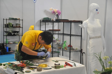 the world expo: 44th World Skills Competition at Shanghai World Expo exhibition hall