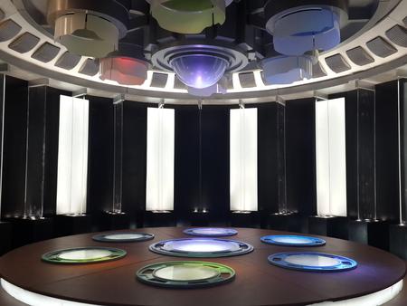 Star Trek fifty anniversary exhibition of ShangHai Railway Station