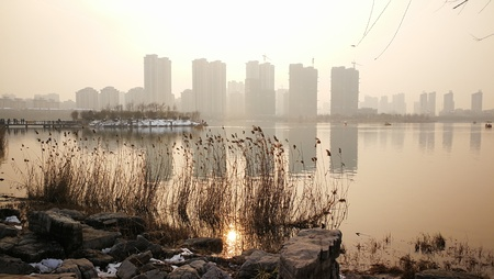 turismo ecologico: Delta ecological park, Suzhou, Anhui