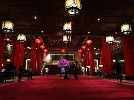 lobby at Grand Hotel taipei