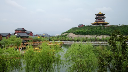 New Old Summer Palace in Hengdian, Zhejiang