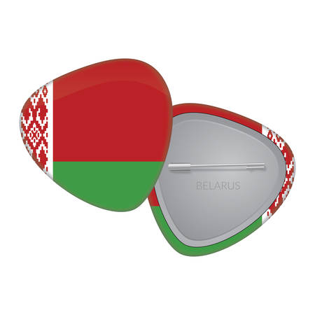Vector Flag Badge Series - Belarus Vector