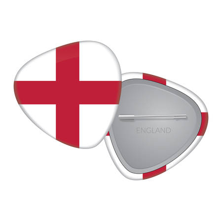 Vector Flag Badge Series - England Vector