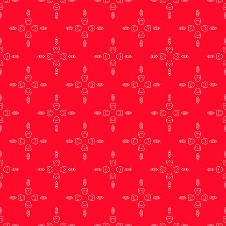Pattern flower, Abstract geometric background, print.