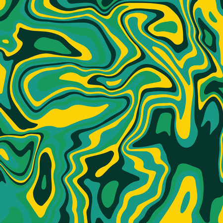 Green Marble ink texture acrylic painted waves texture background, Colorful psychedelic background