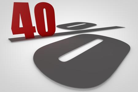 render: 40 procent 3D render