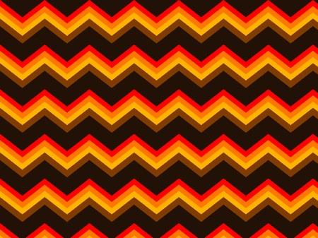 Chevron Brown Orange Seamless Background Pattern Zigzag Vector