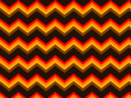 Chevron Brown Orange Seamless Background Pattern Zigzag Stock Vector - 32055115