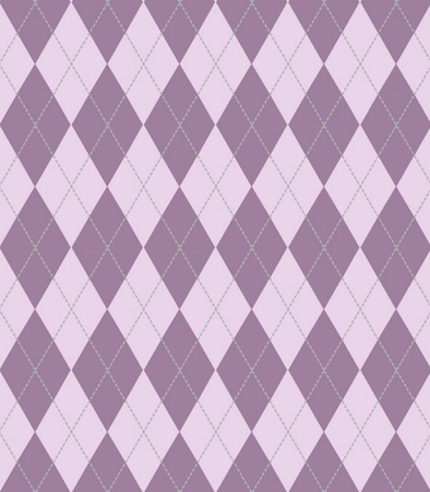 Large argyle purple seamless texture for backgrounds, wallpaper, cloth Illustration