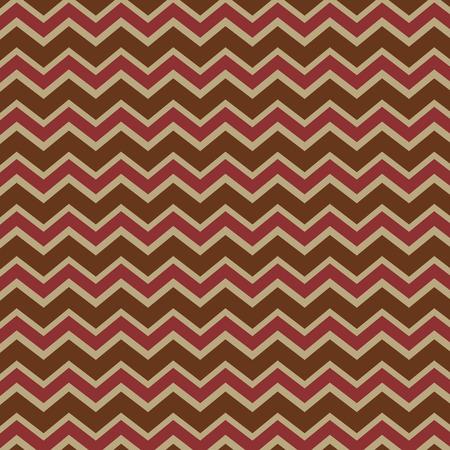 Seamless repeating chevron zig zag background pattern Vector