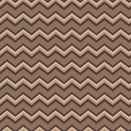 Tan and brown repeating zig zag chevron