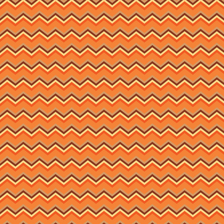 Autumn colored chevron seamless repeating pattern