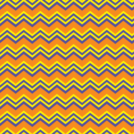 Seamless repeating chevron zig zag background pattern in orange, purple and yellow Stock Vector - 32457439