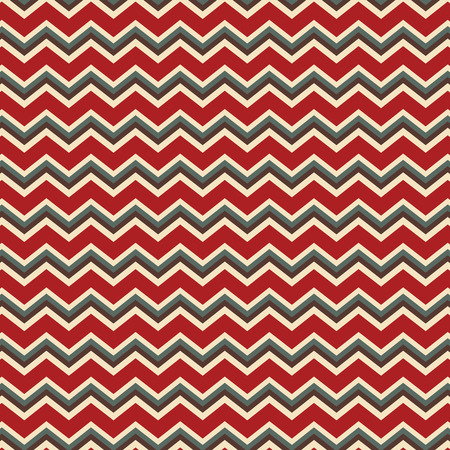 Seamless repeating chevron zig zag background in Christmas holiday colors