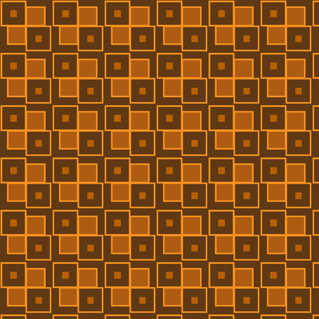 Seamless repeating brown geometric pattern