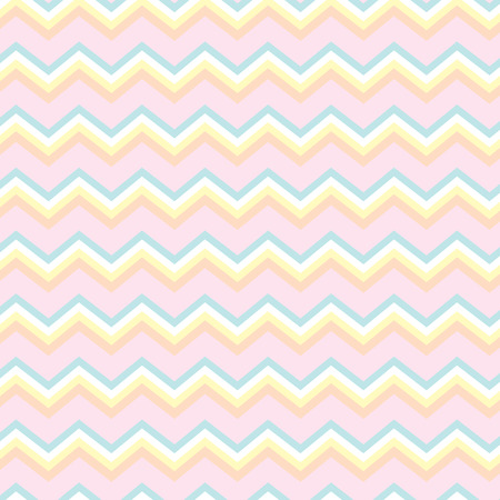 Seamless repeating chevron zig zag in light colors Stock Vector - 32700742