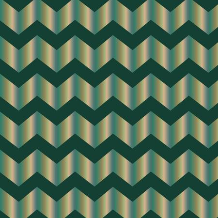 Repeating metallic zig zag background Stock Vector - 32700748