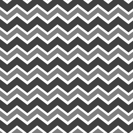 Grey and white zig zag pattern Stock Vector - 32700750
