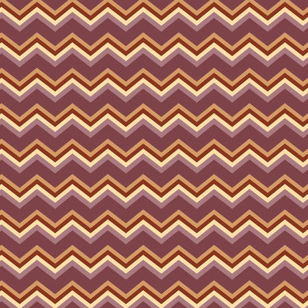 Repeating zig zag pattern Illustration