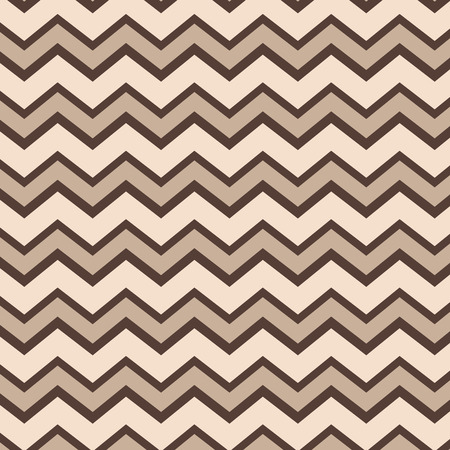 Seamless repeating brown and tan zig zag background