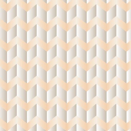 Seamless peach and white zigzag background