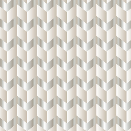 White chevron zigzag background pattern Illustration