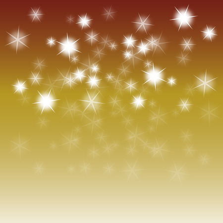 Sparkles on warm colored background Stock Photo - 32925737