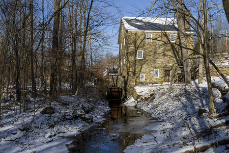 grist mill: Cooper Gristmill