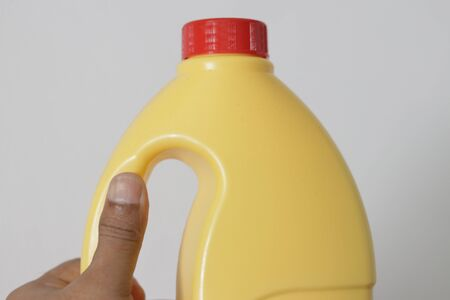 This is a bottle image with hand for oils, also for any liquid without label