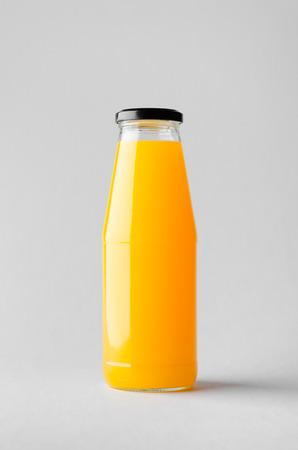 Juice Bottle Mock-Up Banco de Imagens