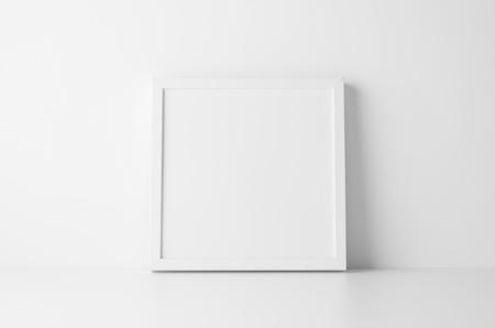 Square Frame Mock-Up Banco de Imagens - 68168422