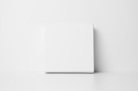 Square Art Canvas Mock-Up Banco de Imagens