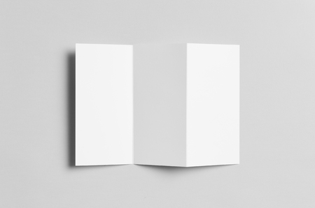 a4 z fold brochure mock up stock photo picture and royalty free