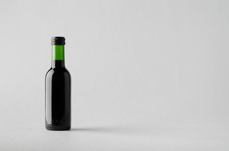 zinfandel: Wine Quarter Bottle Mock-Up