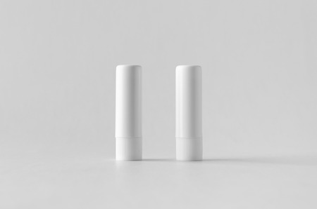 Lip balm packaging mock-up. Banco de Imagens - 115963500