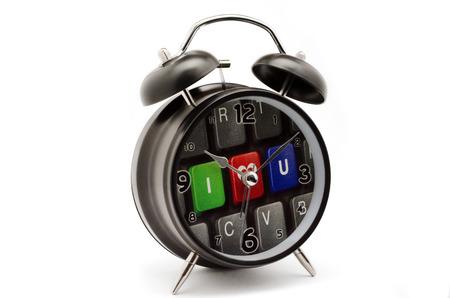 teclado numerico: Despertador