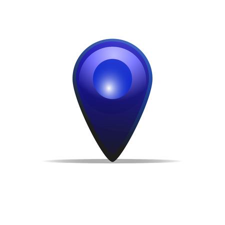 Colorful location icon.
