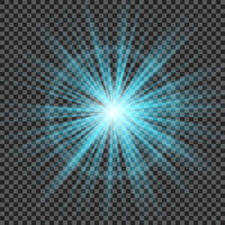 flare light: transparent sunlight special lens flare light effect