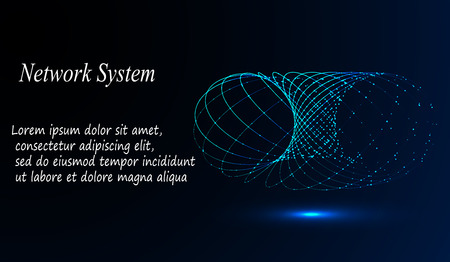 eps10. 3d geometric vector background for business or science presentation. 일러스트
