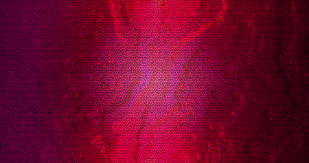 3d rendering. Abstract embossed surface. The texture of the plaster or stone is red. background. Abstract illustration.