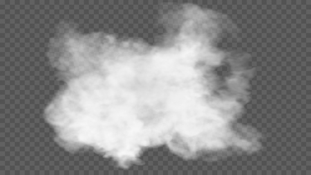 Transparent special effect stands out with fog or smoke. Stock Photo