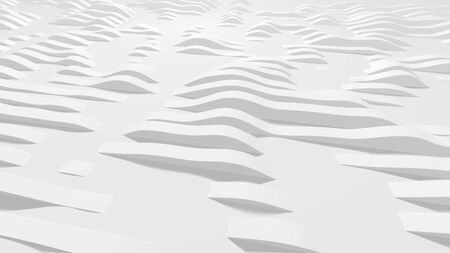 White wavy lines on the surface, vector illustration. Background for your design.