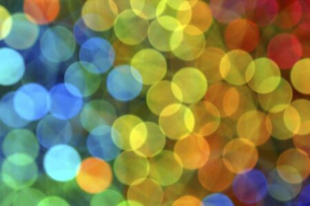 Colorful bokeh or blurred light abstract.