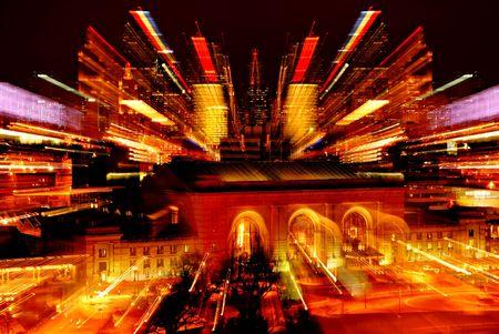 efectos especiales: Union Station en Kansas City, Missouri. Ampliada para efectos especiales.