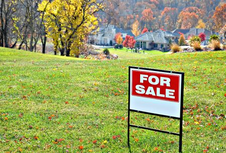 Lot for sale in nestled in an upscale neighborhood. Stock Photo - 2415124