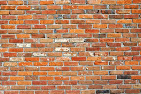 Very old brick wall. Stock Photo
